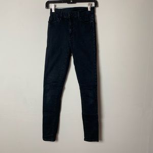 uo high waisted black jeans